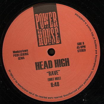 Cover art - Head High: Rave