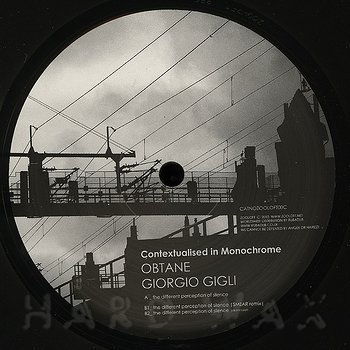 Cover art - Obtane & Giorgio Gigli: Contextualised In Monochrome