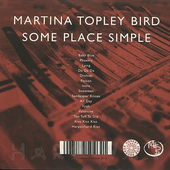Cover art - Martina Topley-Bird: Some Place Simple