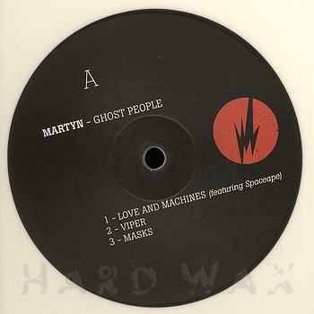 Cover art - Martyn: Ghost People