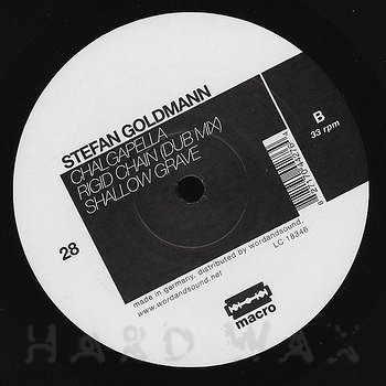 Cover art - Stefan Goldmann: Adem EP