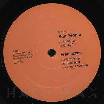 Cover art - Sun People: Alphonze