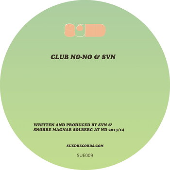 Cover art - Club No-No & SVN: Sued 9