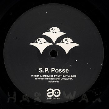 Cover art - S.P. Posse: Acido 17