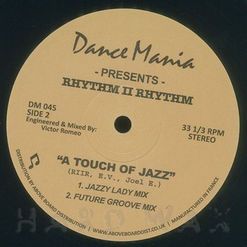 Cover art - Rhythm II Rhythm: A Touch Of Jazz