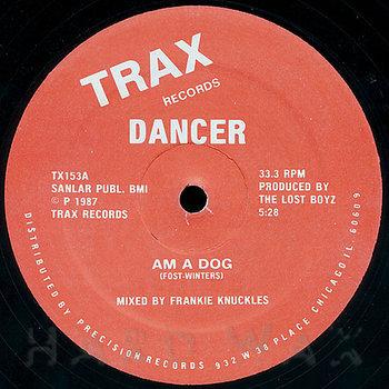Cover art - Dancer: Am A Dog