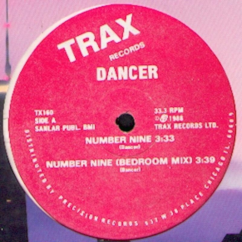 Cover art - Dancer: Number Nine
