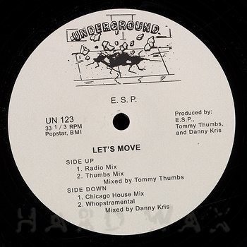 Cover art - E.S.P.: Let's Move