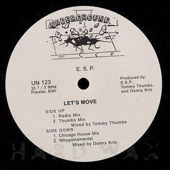 Cover art - E.S.P.: Let's Move