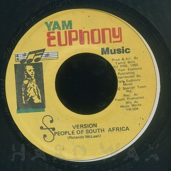 Cover art - Yami Bolo: The People Of South Africa