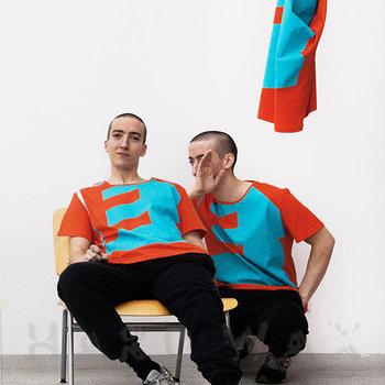 """Cover art - T-Shirt, Size L: Perlon 2016 - """"E"""""""