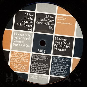 Cover art - Kerri Chandler: House Legends: Kerri Chandler Sampler #3
