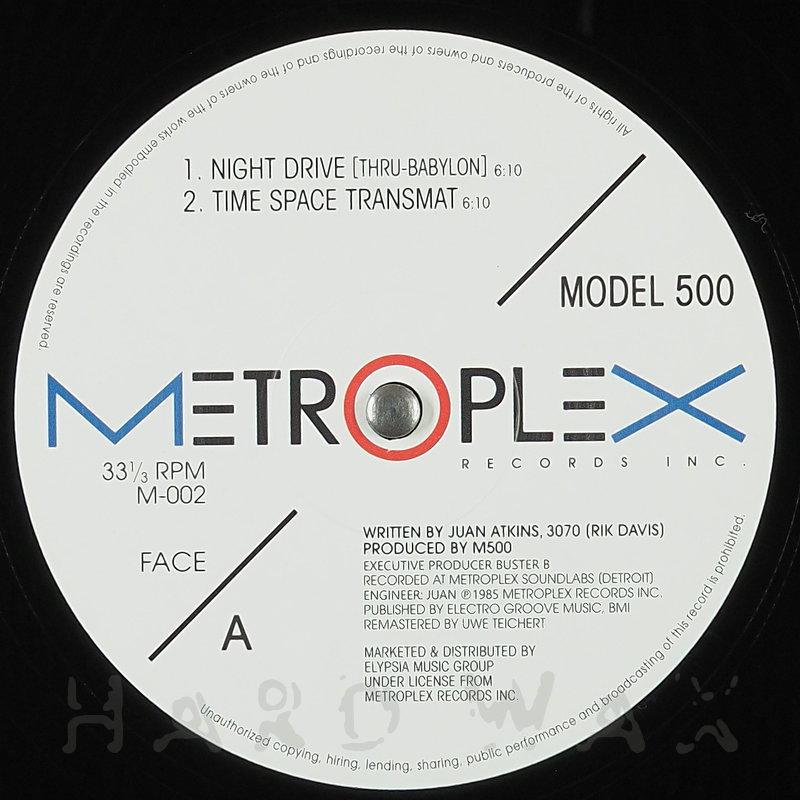 Cover art - Model 500: Night Drive