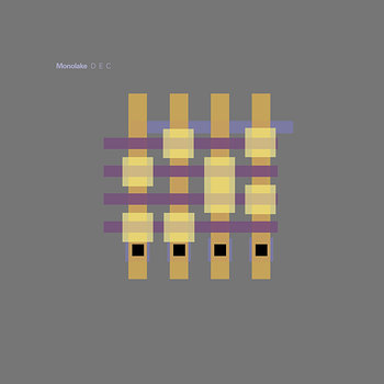Cover art - Monolake: D E C