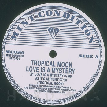 Cover art - Tropical Moon: Love Is A Mystery