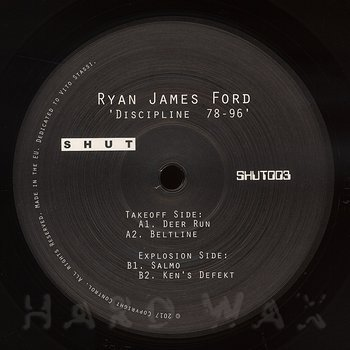 Cover art - Ryan James Ford: Discipline 78-96