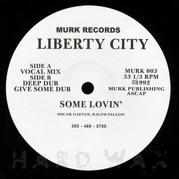 Cover art - Liberty City: Some Lovin'