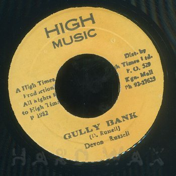 Cover art - Devon Russell: Gully Bank