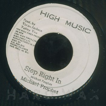 Cover art - Michael Prophet: Step Right In