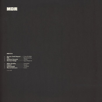 Cover art - Various Artists: MDR Compilation