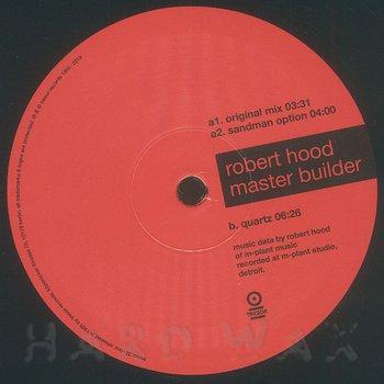 Cover art - Robert Hood: Master Builder