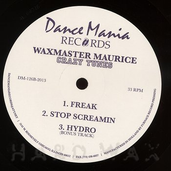 Cover art - Wax Master Maurice: Crazy Tunes