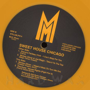 Cover art - Various Artists: Sweet House Chicago