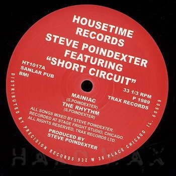 Cover art - Steve Poindexter: Short Circuit