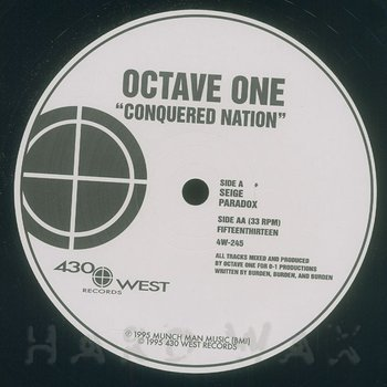 Cover art - Octave One: Conquered Nation