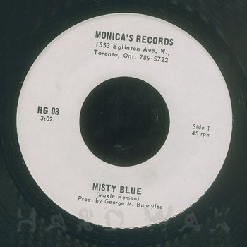 Cover art - Max Romeo: Misty Blue