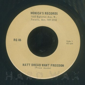 Cover art - Prince Jazzbo: Natty Dread Want Freedom