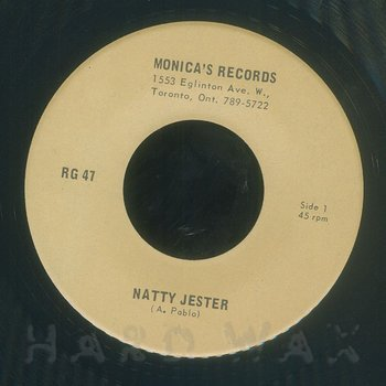 Cover art - Augustus Pablo: Natty Jester