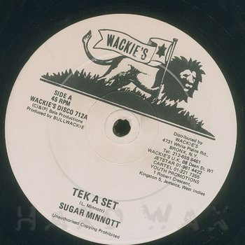 Cover art - Sugar Minott: Tek A Set