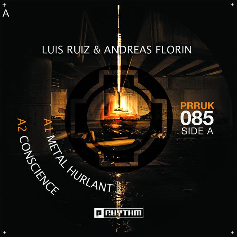 Cover art - Luis Ruiz & Andreas Florin: Metal Hurlant