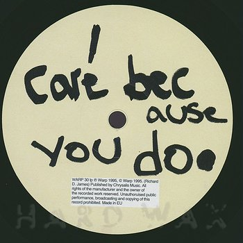 Cover art - Aphex Twin: I Care Because You Do
