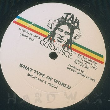 Cover art - Michigan & Smiley: What Type Of World