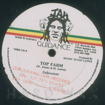 Cover art - Yellowman: Top Farm