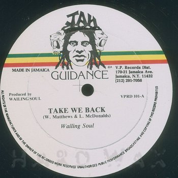 Cover art - Wailing Souls: Take We Back