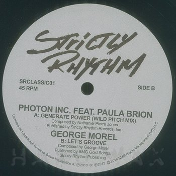Cover art - Photon Inc / George Morel: Generate Power / Let's Groove