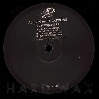 Cover art - Ascion & D. Carbone: Substructures