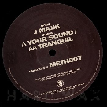 Cover art - J. Majik: Your Sound