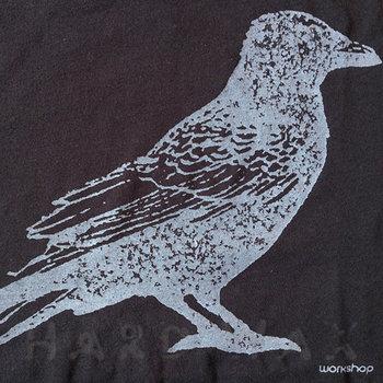 Cover art - T-Shirt, Size L: Workshop 20, black w/ gray print