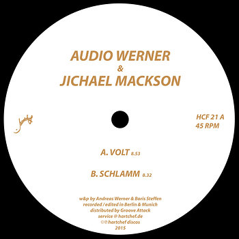 Cover art - Audio Werner & Jichael Mackson: Volt