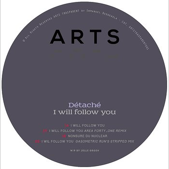 Cover art - Détaché: I Will Follow You EP