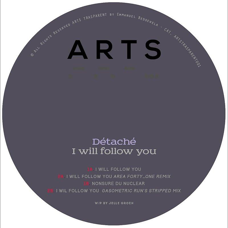 Cover art - Détaché: I Will Follow You EP