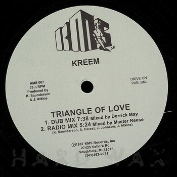 Cover art - Kreem: Triangle Of Love