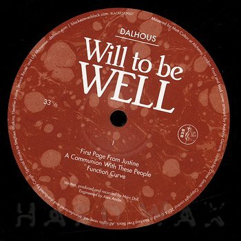 Cover art - Dalhous: Will To Be Well