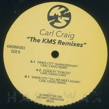 Cover art - Carl Craig: The KMS Remixes