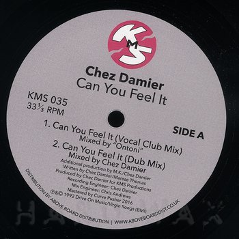 Cover art - Chez Damier: Can You Feel It