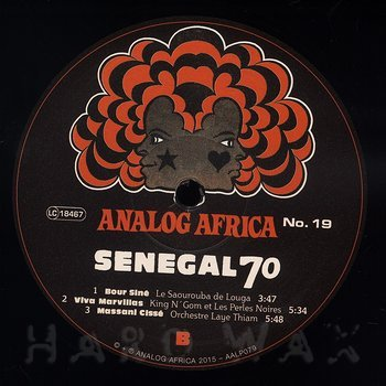 Cover art - Various Artists: Senegal 70